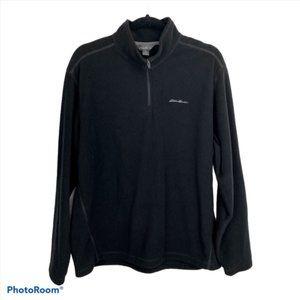 Eddie Bauer Long Sleeve Winter Fleece Jacket Sz L